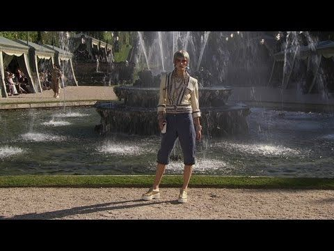Chanel Cruise 2012/13 show presented at the Palace of Versailles in France.