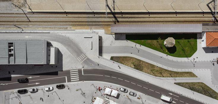 The Power Of The Plan: Drones And Architectural Photography,Terminal Rodoviario / Castelo Branco . Image © Joao Morgado