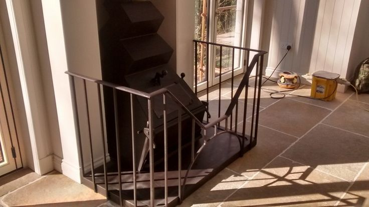 A lovely supply and install of a Dowling ZigZag complete with custom made guard.