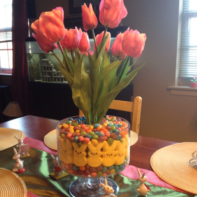 Easter table decor :)