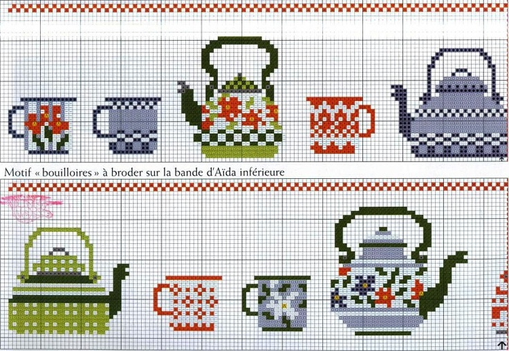 Cross Stitch Teapots - Gallery.ru / Фото #32 - разное - irisha-ira
