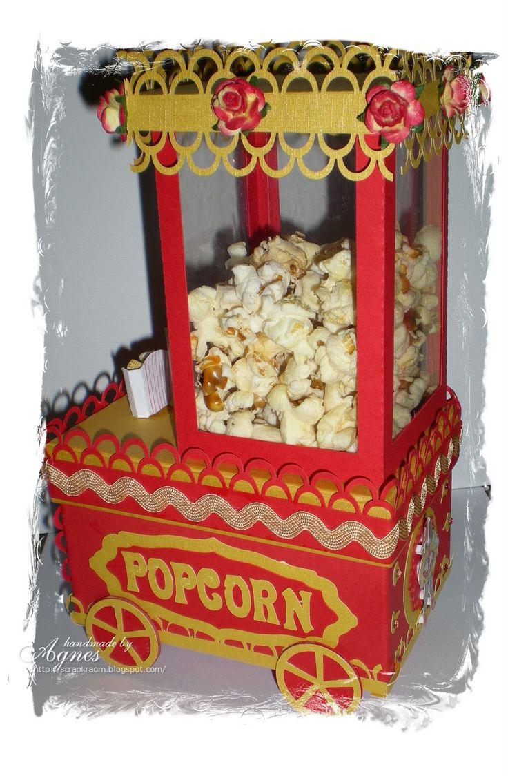 Een popcorn machine als surprise, hoe verrukkelijk leuk