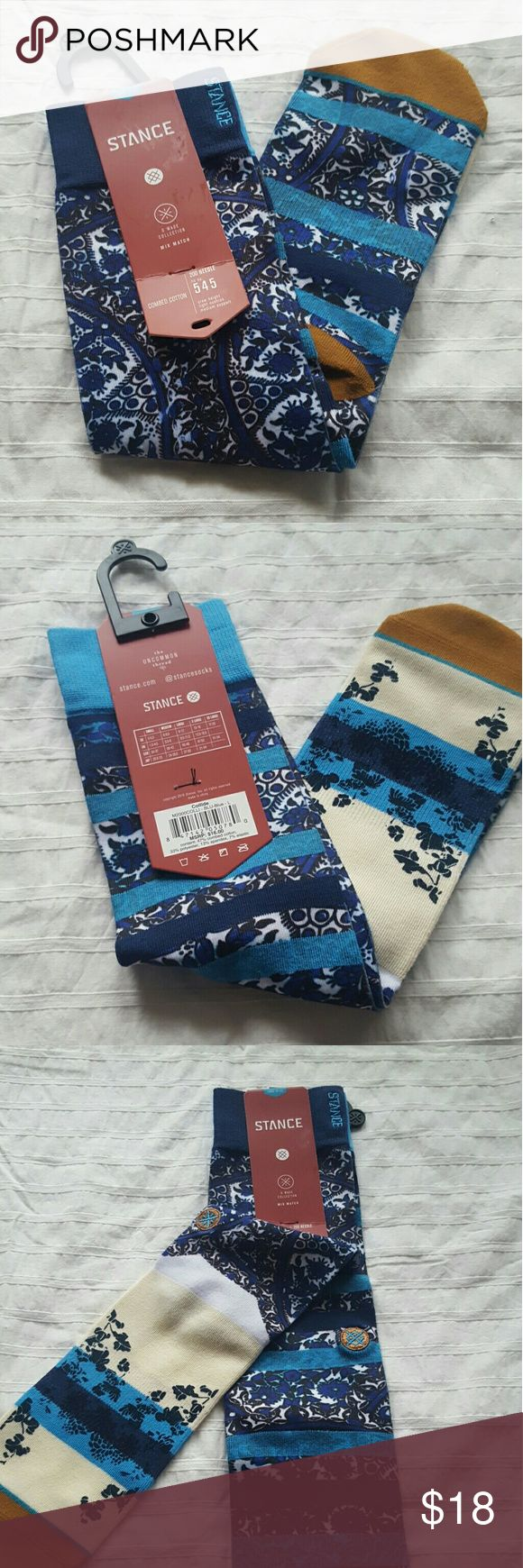 Stance Dwayne Wade Collection Socks- L NWT Men's D Wade Collection mix match socks. Size Mens Large and will fit shoe sizes (9 - 12) Stance Underwear & Socks Casual Socks
