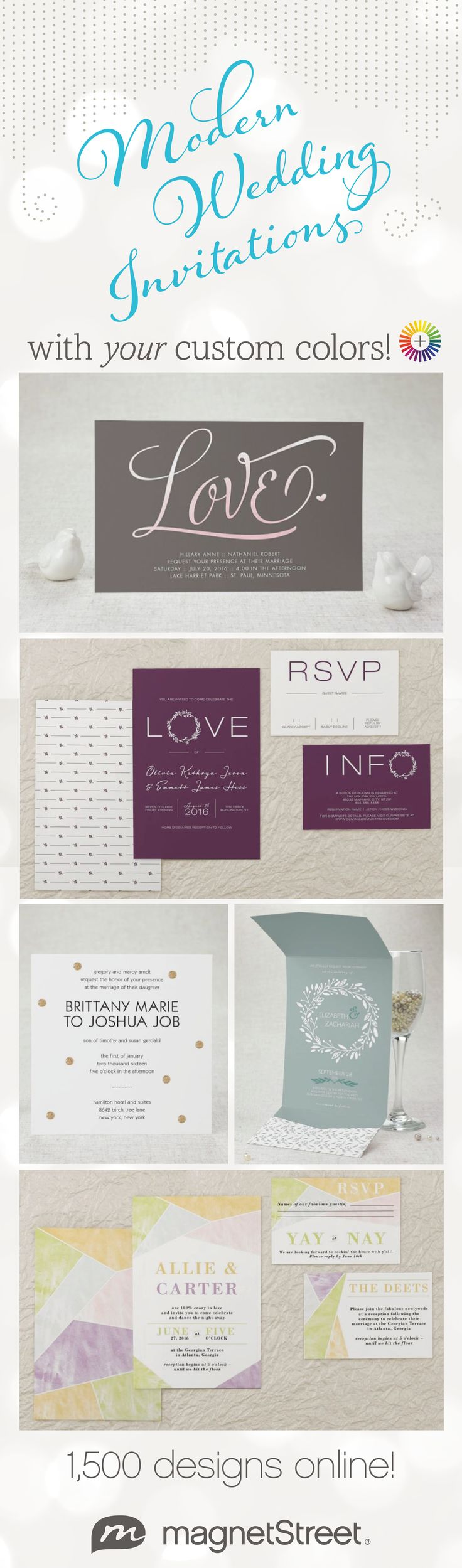 228 best wedding invitations images on pinterest weddings lots of new wedding invitations designs to choose from plus you can customize style stopboris Choice Image
