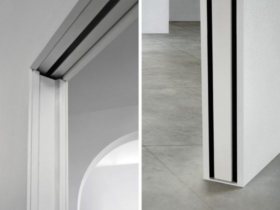pocket door fittings ::L'invisibile