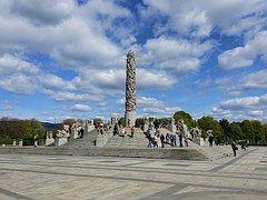 Oslo, Noruega, Parque De Esculturas