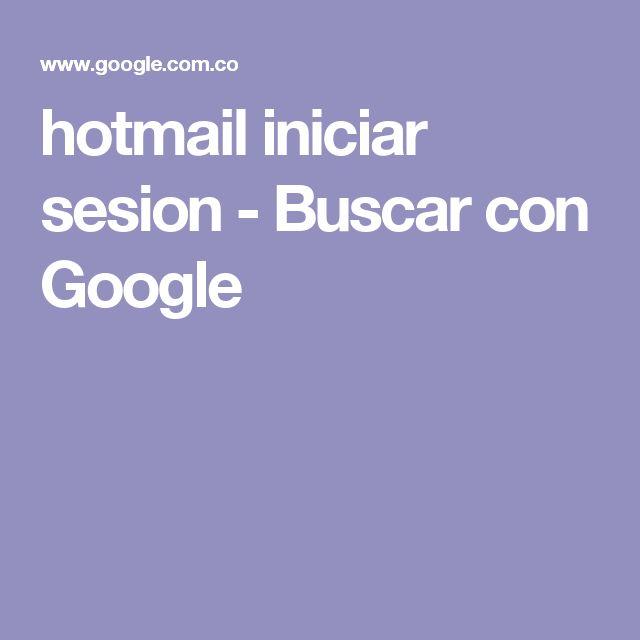 hotmail iniciar sesion - Buscar con Google