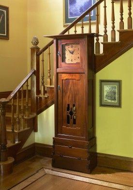 Greene & Greene inspired grandfather clock