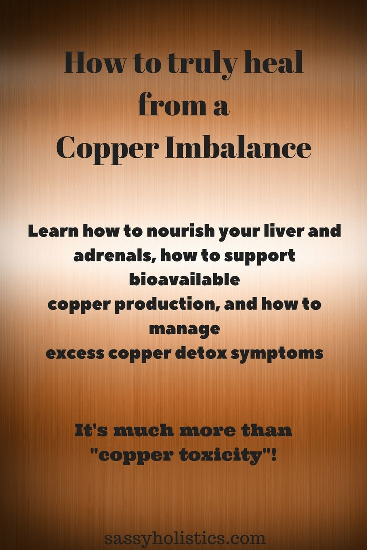 copper dysregulation