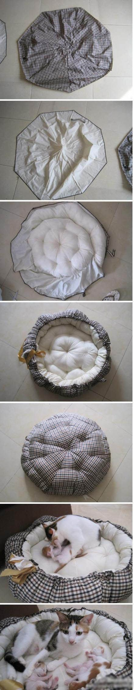 Diy Pet Bed | Click to see More DIY & Crafts Tutorials on Our Site.