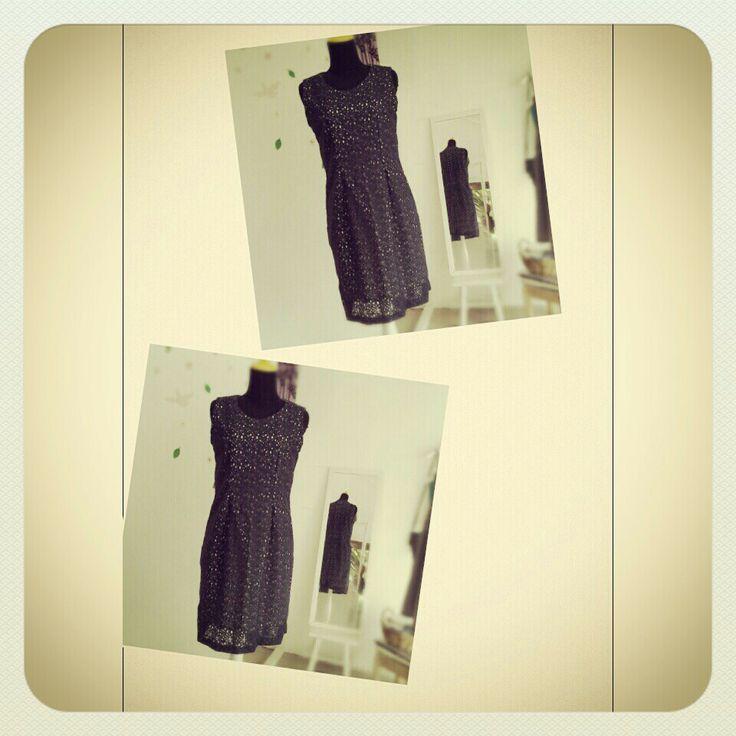 lace dress|darkblue|limited|handmade|custom