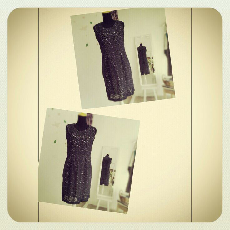 lace dress darkblue limited handmade custom
