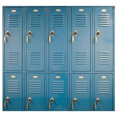 School Lockers Poster