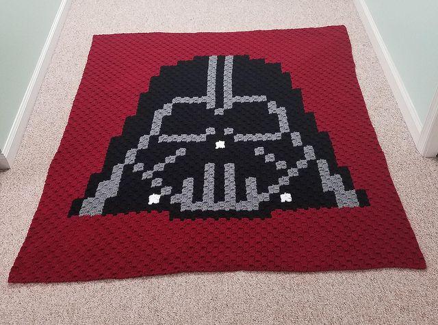 Darth Vader Corner to Corner Blanket – Going Slightly Mad