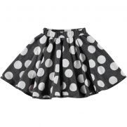 Jupe fille à pois...qui tourne! Dotted girl skirt!