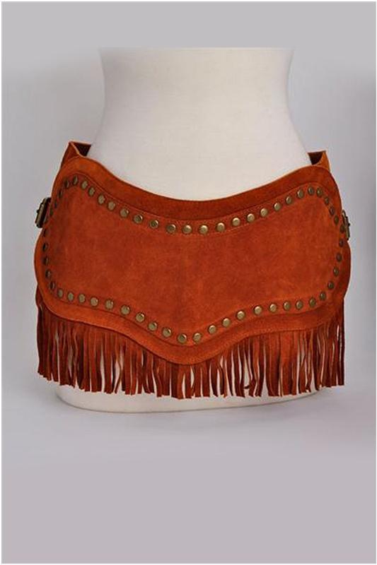 Dolce & Gabbana Genuine Leather Suede Belt - Enviius
