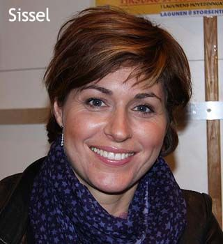 Sissel Kyrkjebø - a popular singer in Norway |  from public domain sources