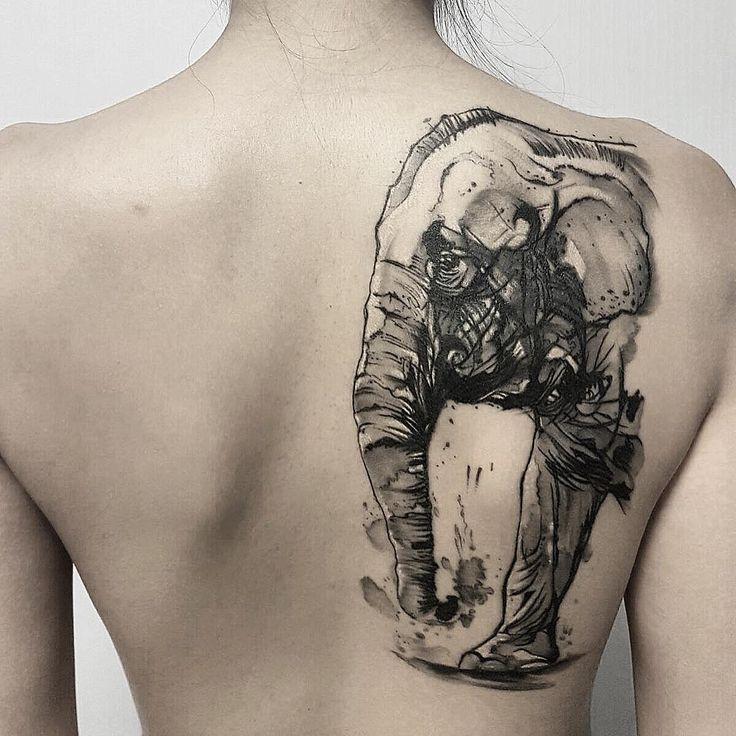 Best 25 Elephant Thigh Tattoo Ideas On Pinterest: 25+ Best Ideas About Tribal Elephant Tattoos On Pinterest