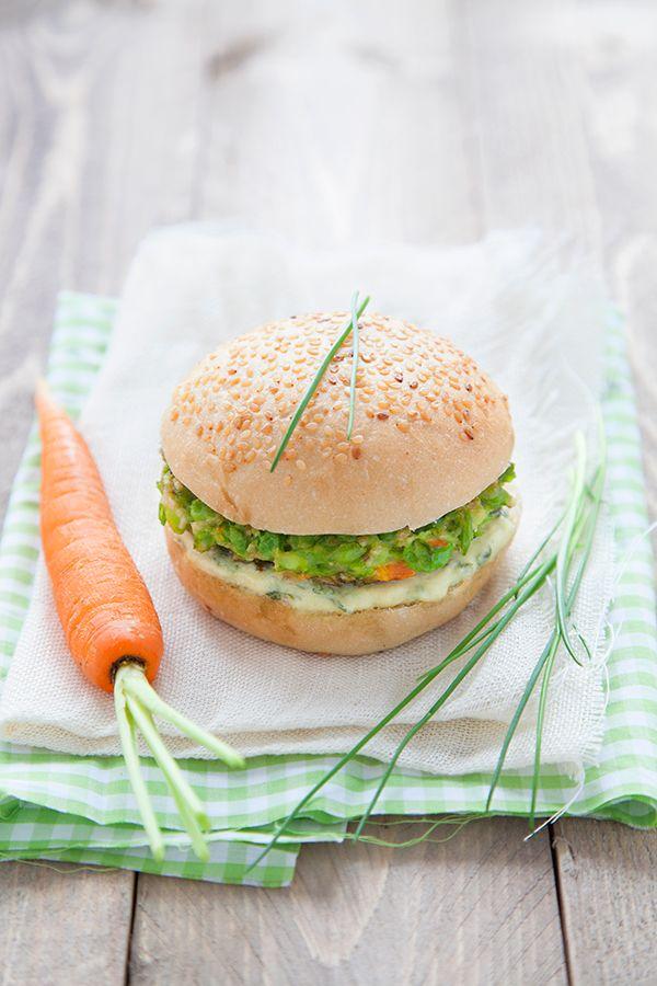 100% Végétal: Burger Printanier