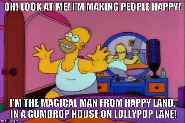 Soy el hada mágica de la felicidad! Vengo del país fantástico de la felicidad!