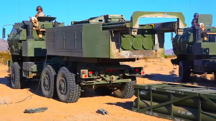 US Marines M31 GMLRS - The Super Powerful Multiple Rockets Launcher M31 GMLRS in Action weapons,marines,#weapons,#marines,us marines,marine corps,usmc,marine,us marine corps,marine online,the marine,marine corps times,martial arts weapons,self defence,us navy,us army,air force,us air force,army,navy,usmc ranks,marine corps ranks,chemical,marine ranks,weaponry