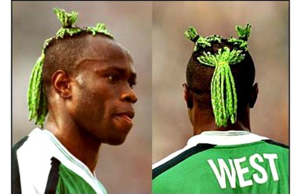 The 25 Ugliest Haircuts in Soccer History. #14 - Taribo West