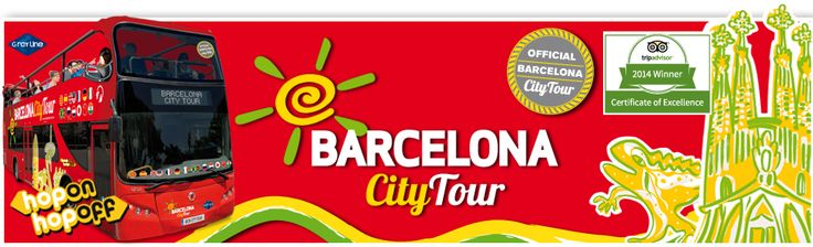 One way to travel around Barcelona is by the Barcelona city tour bus. The bus tours allow the tourists to see, listen and enjoy the points of interest of Barcelona. It's a hop on, hop off bus at any of the 37 stops along their two routes, with four connection points between them.