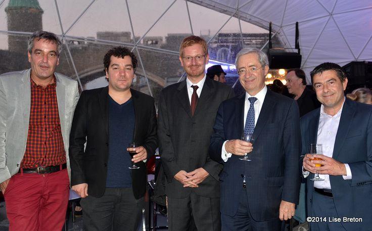 Les invités à la soirée de clôture du FCVQ 2014  // Crédit photo Lise Breton