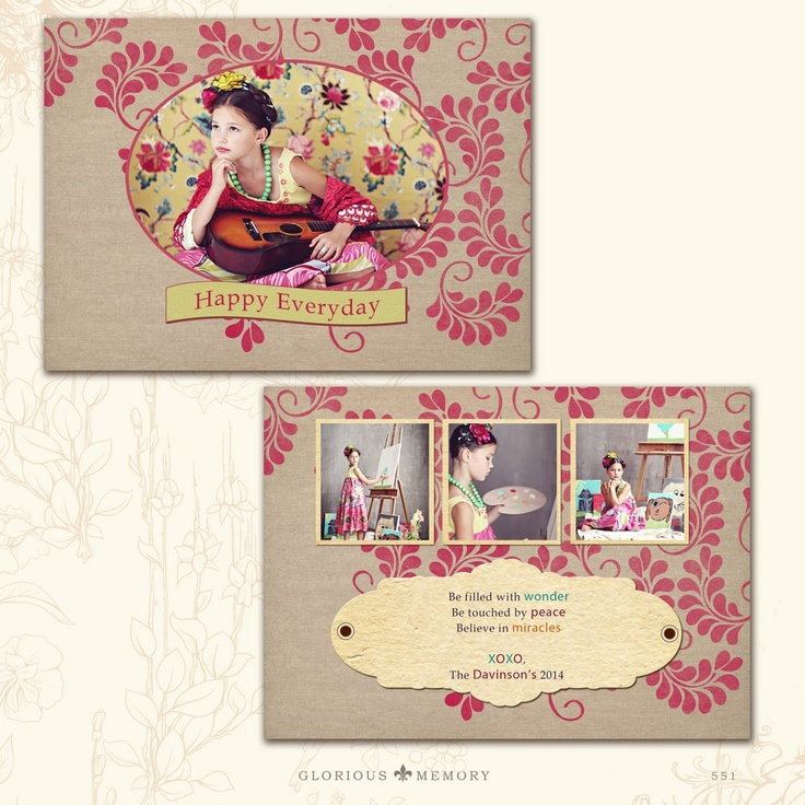 Valentine Or All Occasions Photo Card Templates
