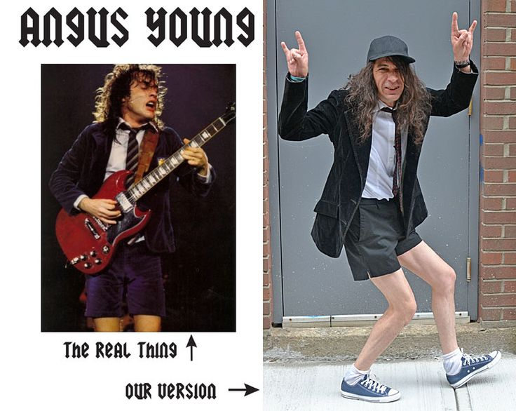 angus young costume diy halloween build your own costume ideas pinterest halloween. Black Bedroom Furniture Sets. Home Design Ideas