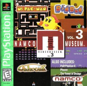 Complete Namco Museum Vol. 3 Greatest Hits - PS1 Game