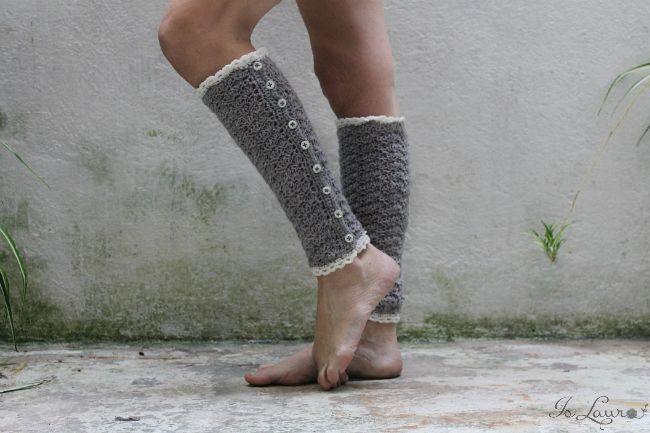 Schemi con spiegazioni in italiano per fare scaldamuscoli a uncinetto #crochet #pattern