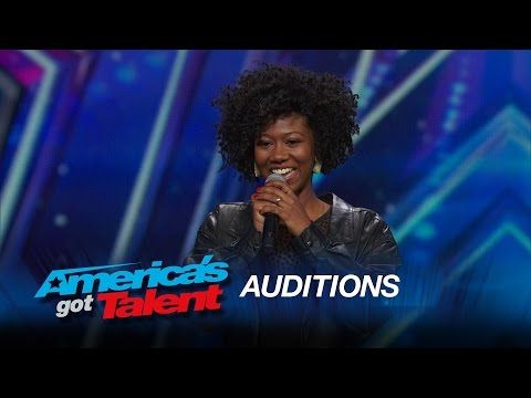 ▶ Sharon Irving: Mel B Hits Golden Buzzer for Soulful Singer - America's Got Talent 2015 - YouTube