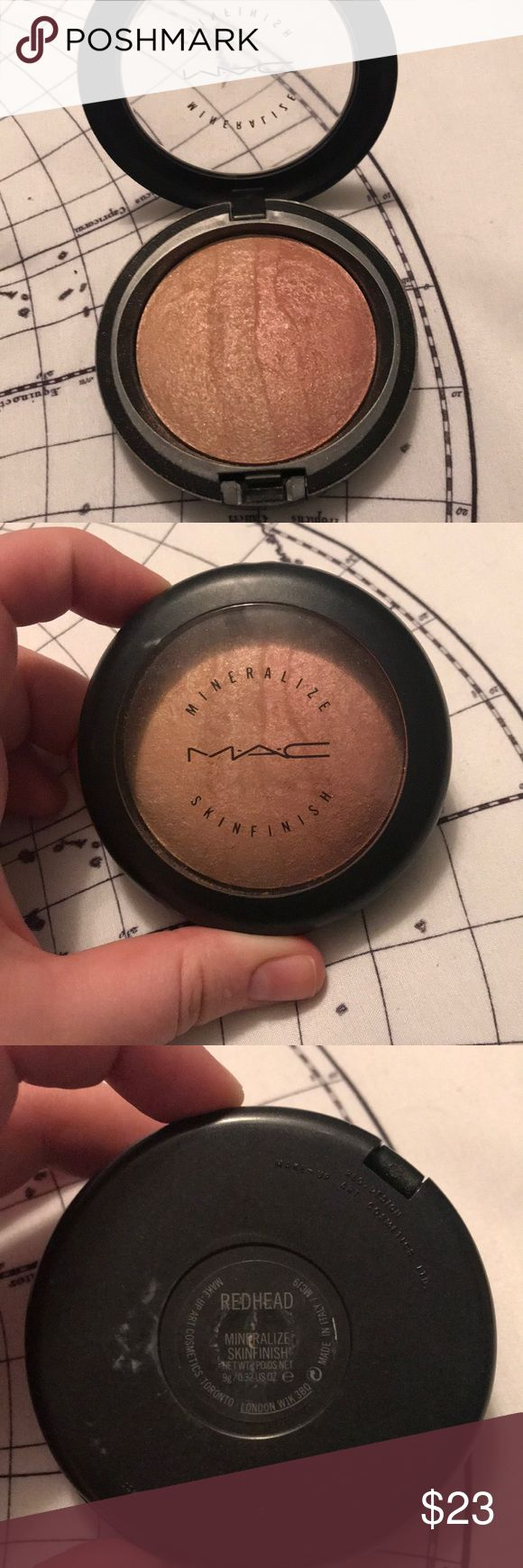 MAC Redhead MSF Like new, swatched once or twice. Authentic, purchased from MAC. Price IS negotiable!!  Bundle and save! MAC Cosmetics Makeup Blush