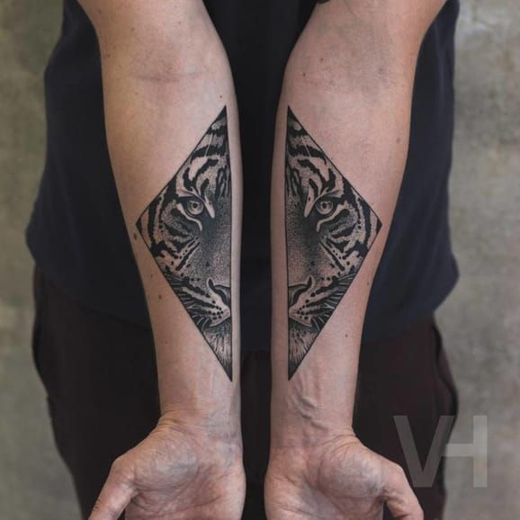 Symmetrical Inspired Tattoos By Valentin Hirsch | Tattoodo.com