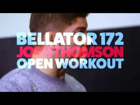 Josh Thomson Bellator 172 Open Workout Highlights