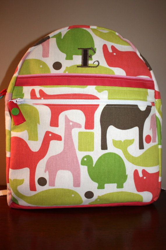 Kids Backpack PDF TUTORIAL & PATTERN (Instant Download):  This backpack is a must-have for your child! Create your own backpack with a variety of