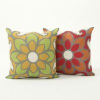 Retro Floral Cushion Cover