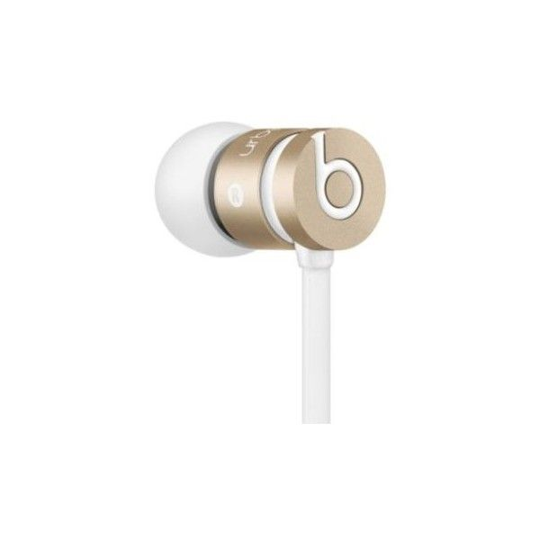 Beats By Dr. Dre Urbeats In-Ear Earphones ($100) ❤ liked on Polyvore featuring accessories, tech accessories, gold, beats by dr. dre, earphones earbuds and beats by dr dre earbuds
