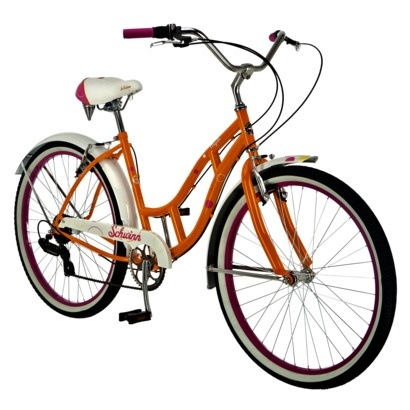 Schwinn Women S Majestic 26 Cruiser Bike Pink Orange