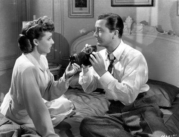 """Robert Young and Laraine Day (1942) """"Journey for Margaret"""""""