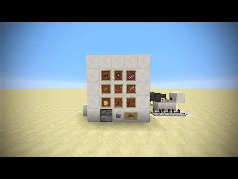 Real Life Vending Machine in Minecraft - Vanilla Redstone Machine - YouTube