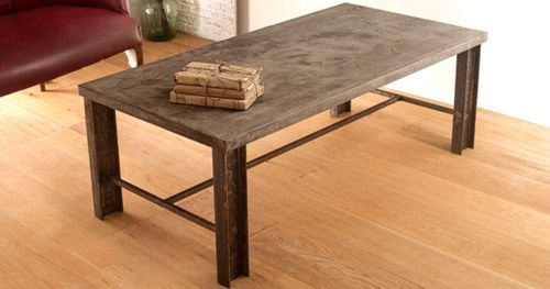 Concrete Coffee Table Vintage Industrial retro Shabby Chic   Home, Furniture & DIY, Furniture, Tables   eBay!