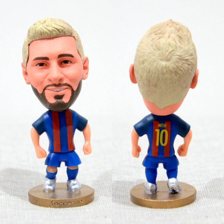 Football Player MESSI #10 Barca 2.5inch Action Figure