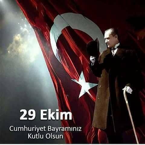 Cunhuriyetimizin yıldönümünde ülkemizden uzaktayız ama Cumhuriyet çoşkusu kalbimizde 🇹🇷🇹🇷🇹🇷#iyikidoğduncumhuriyet #cumhuriyet #bayramı #kutluolsun #atatürk #türkiye #güçlütürkiye #cumhuriyetkadınları #türkiyecumhuriyeti
