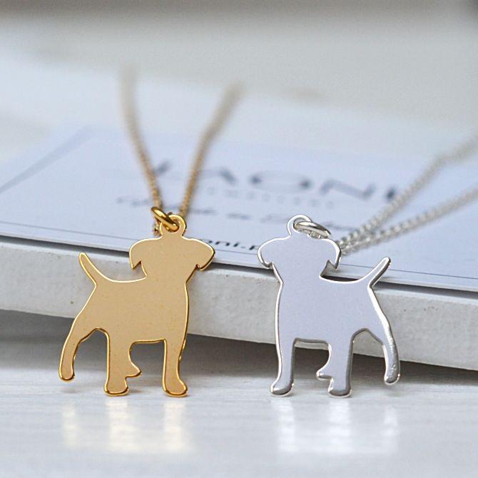 Naszyjnik z pieskiem. Zobacz na >>https://laoni.pl/zloty-naszyjnik-z-pieskiem #pies #naszyjnik #złoty #celebrytki #biżuteria