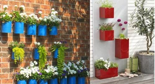 10 Gardening Ideas for Small Spaces Wall Box Garden – Living Impressive