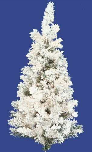 22 best The Best Unlit Flocked Artificial Christmas Trees