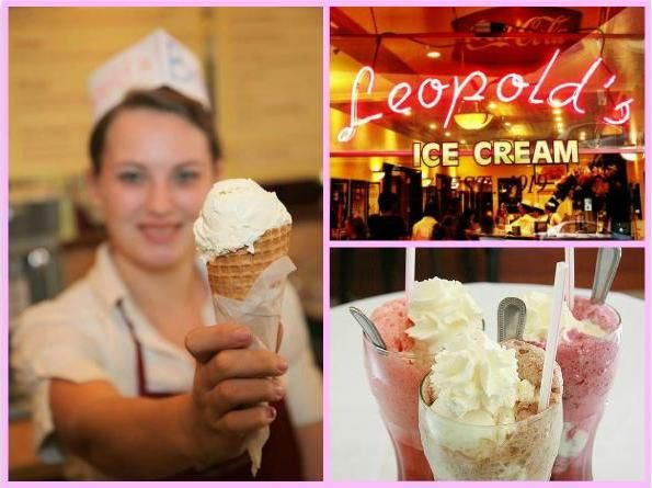 Peter Greenberg's Daily Scoop: Leopold's Ice Cream in Savannah, GA