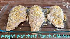 This Weight Watchers Ranch Chicken is a favorite with my whole family plus it is low Weight Watchers Points Plus Value.